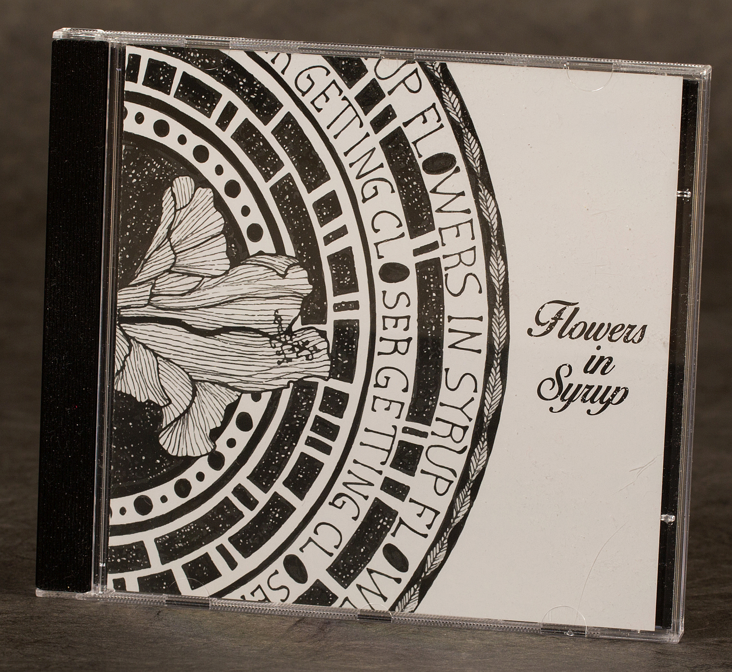 "Flowers in Syrup CD ""Getting Closer"" physical"