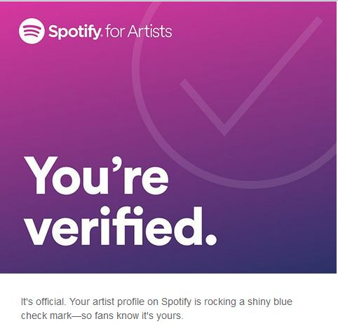Flowers in Syrup Spotify verification
